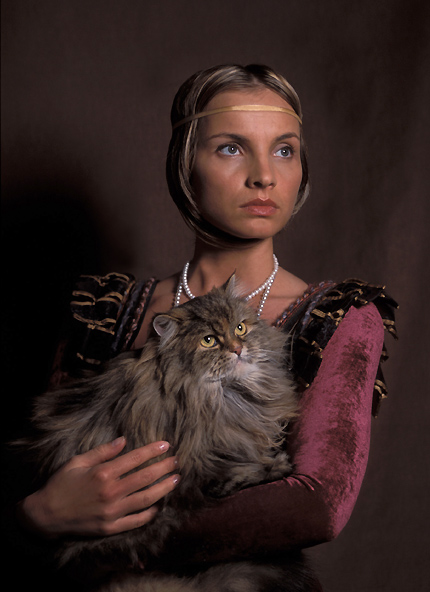Lady With The Cat