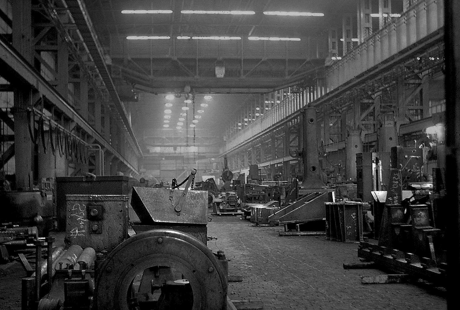 längst vergessene Industrie