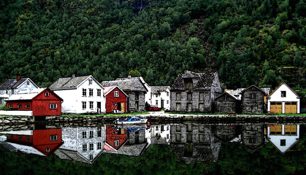 Laerdal, Norwegen