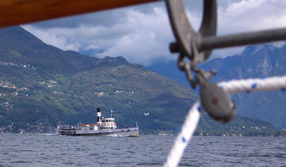 Läugeli - Letztes Segeln - Kursschiff