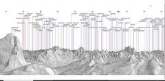 Lagazuoi 2bearbeitet zur Bestimmung der Berge