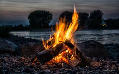Lagerfeuer..