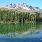 Lago al Passo San Pellegrino