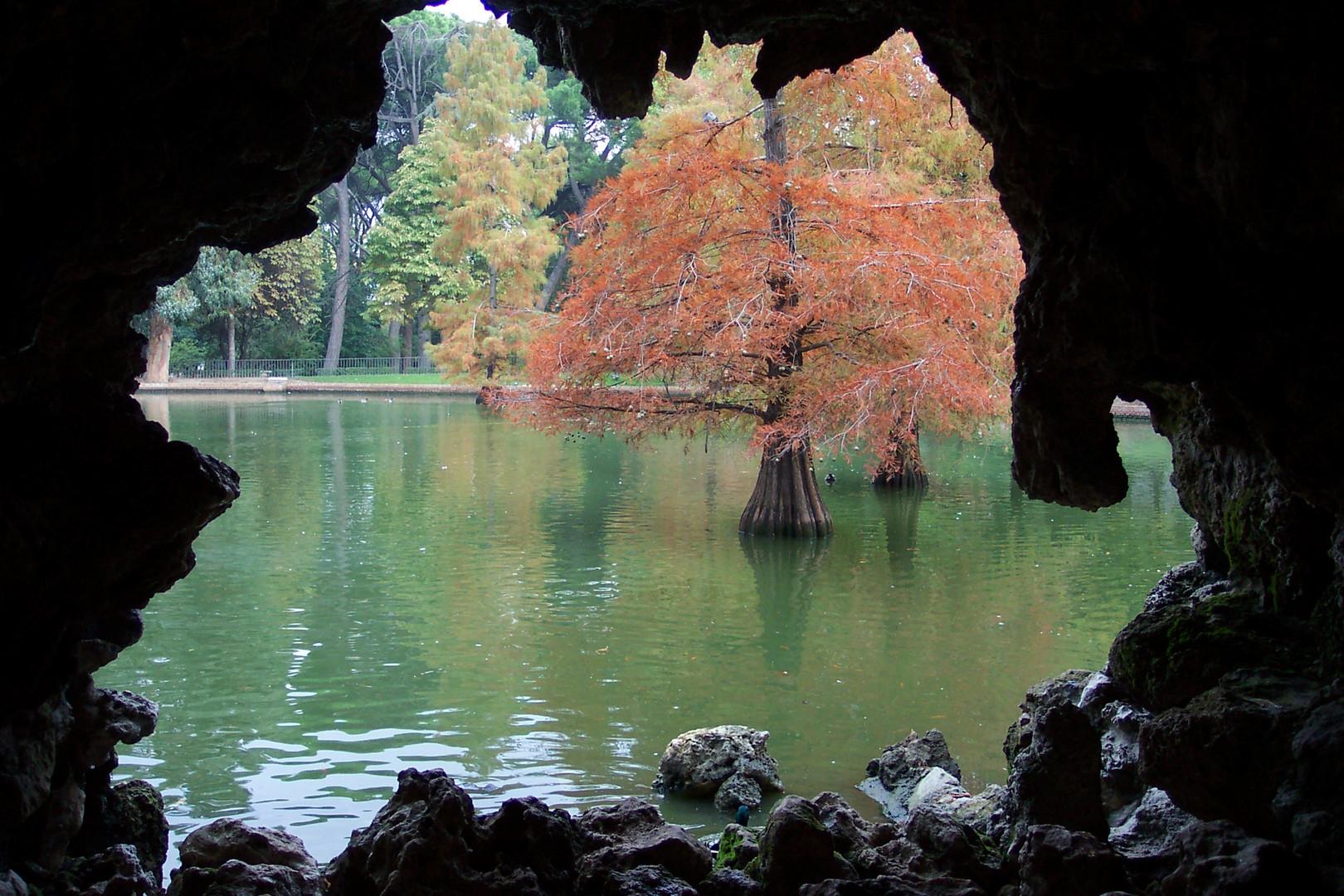 """Lago artificial, parque de """"El Retiro"""""""