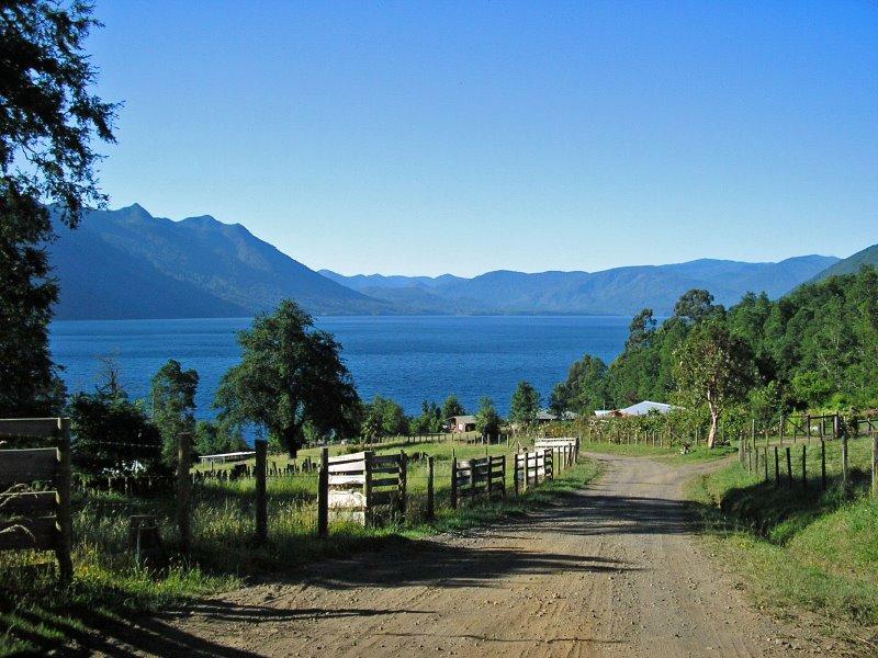 Lago Caburgua, en el Sur de Chile