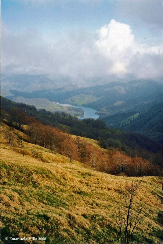 Lago del Brugneto (Liguria, 2006)
