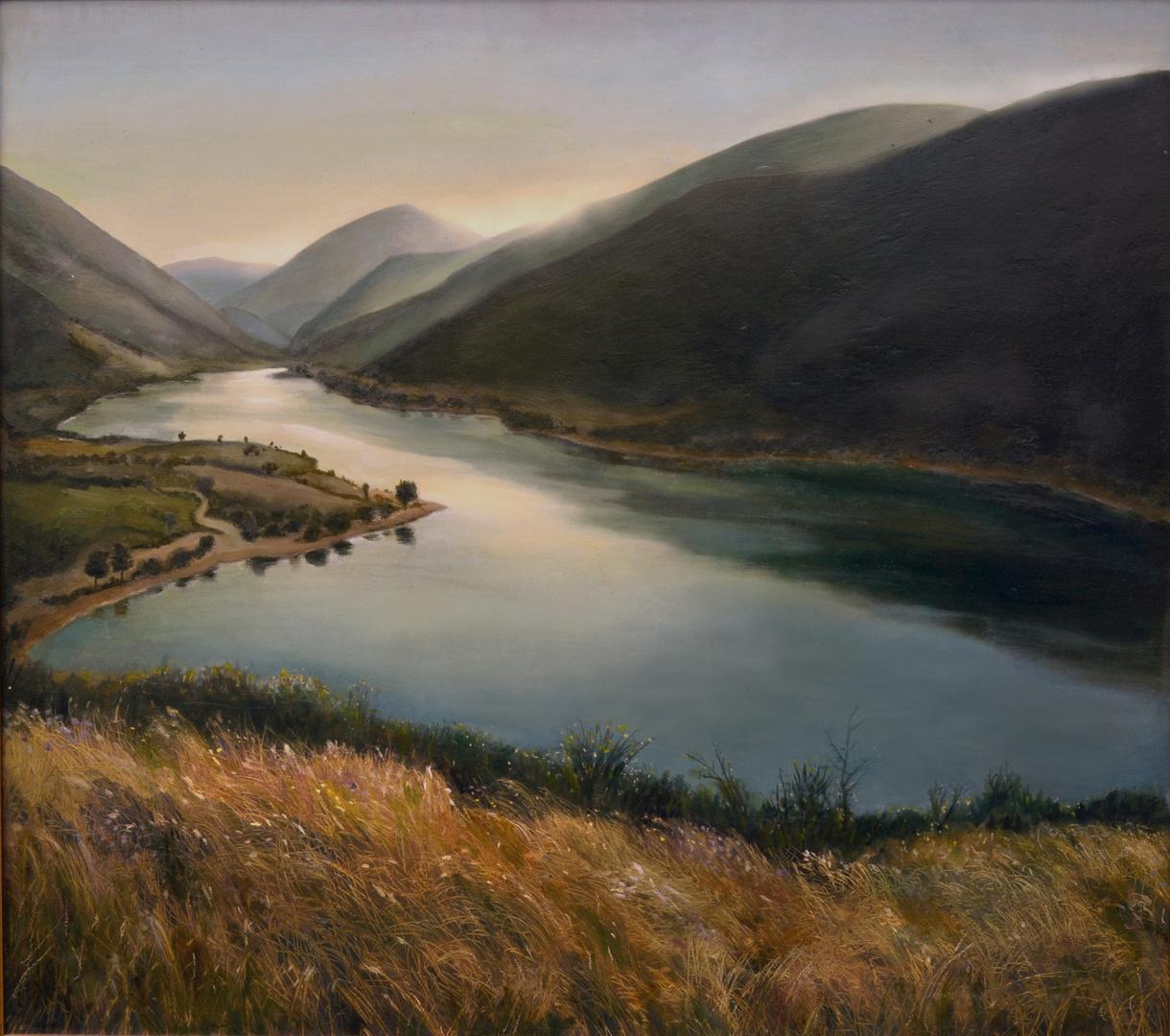 lago delle Marche ( monti sibillini Caccamo ) ---