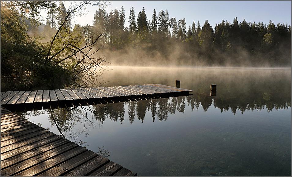 «Lago di Cresta» morgens kurz nach 7 Uhr