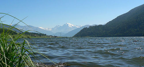 lago di Resia e Ortles // Reschen see und Ortler