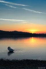 Lago di Varese, crepuscolo