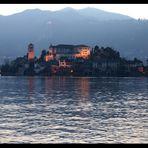 Lago d'Orta all'imbrunire