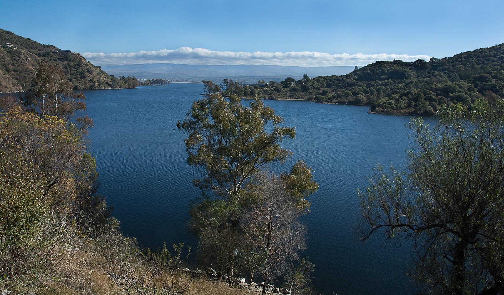 Lago en Alta Gracia, Córdoba