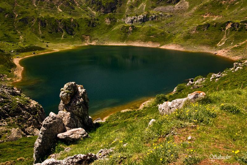 Lago en Somiedo