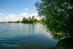 Lago Laprello Heinsberg am Tag nach dem Sturm der nie an kam