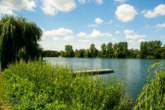 Lago Laprello Heinsberg am Tag nach dem Sturm der nie an kam #2
