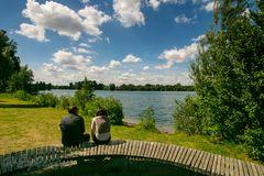 Lago Laprello Heinsberg am Tag nach dem Sturm der nie an kam #5