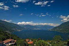 Lago Maggiore - Blick vom Balkon