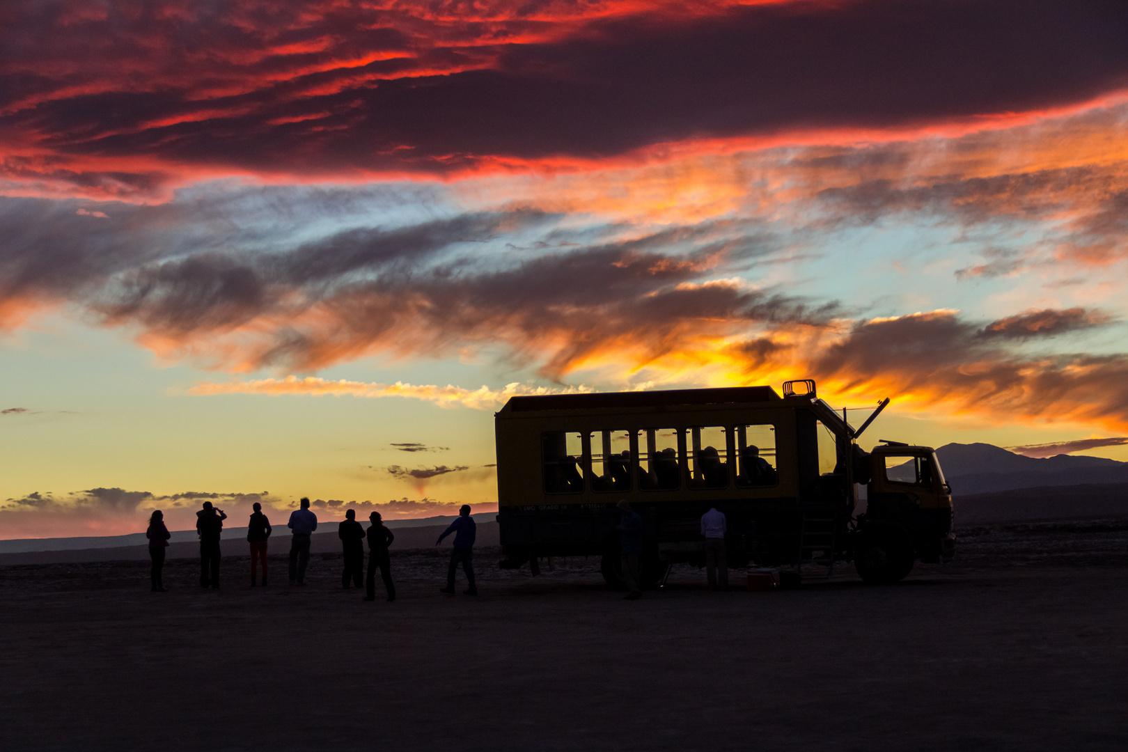 Laguna cejar REgion de Atacama