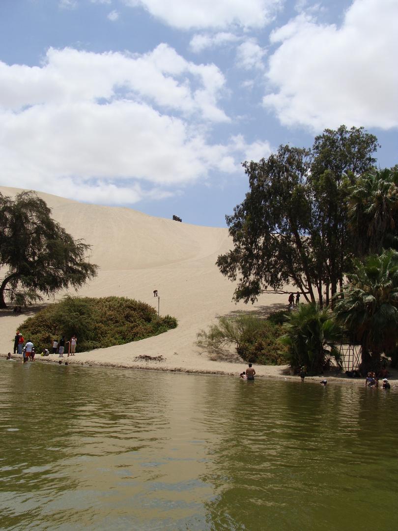 Laguna de Huacachina Ica Perú