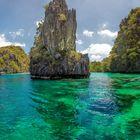 Lagune auf Palawan