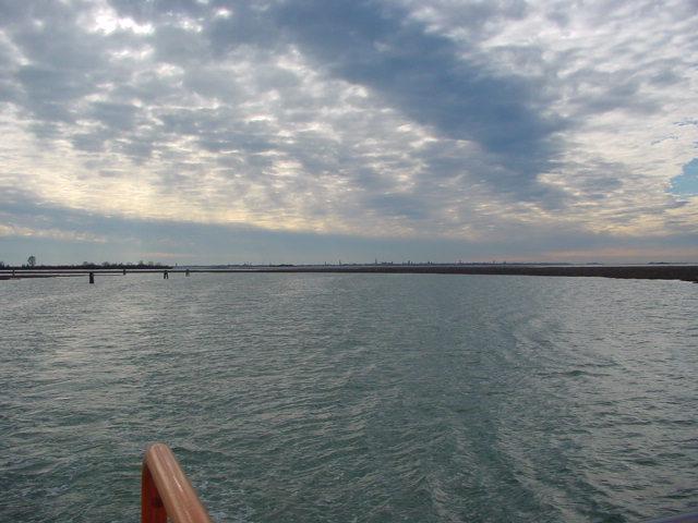 Lagune bei Murano