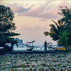 * Lagune Candi Dasa *