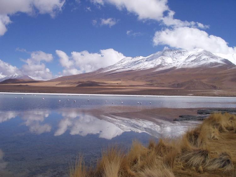 Lagune im Grenzgebiet zwischen Bolivien und Chile