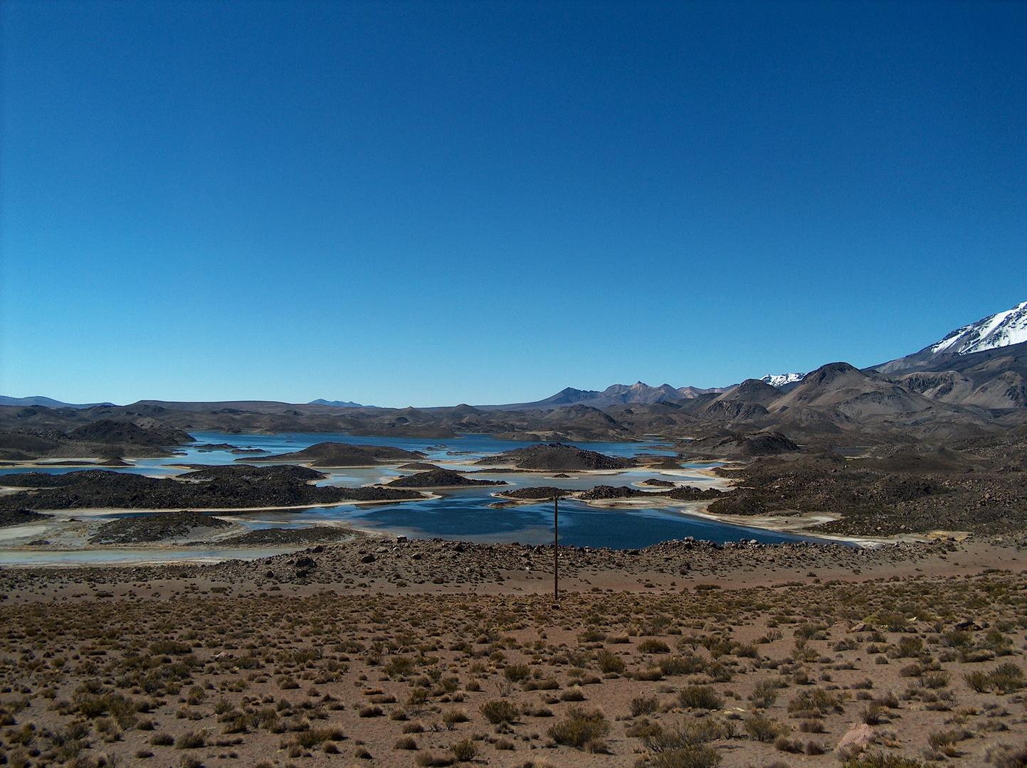 Lagune oltre i 4000 metri tra Cile e Bolivia