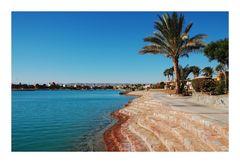 Lagune von El Gouna