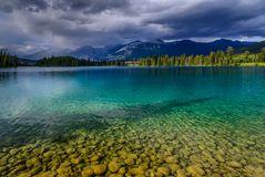 Lake Beauvert, Jasper, Kanada