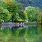 Lake by the German-Austrian border