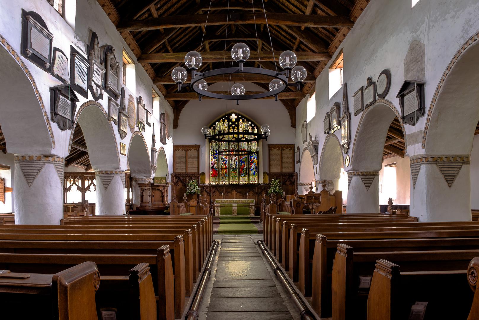 Lake District - Church in Hawkshead