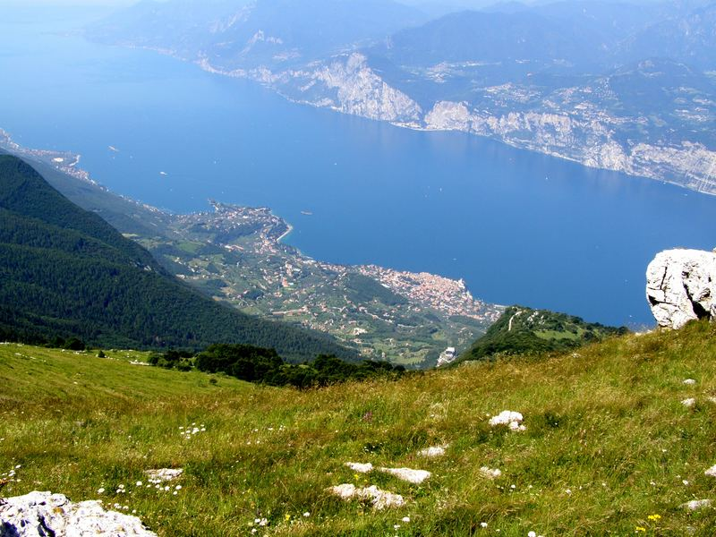 Lake Garda as seen from Mount Baldo