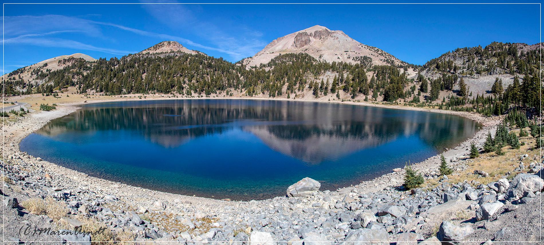 Lake Helen und Mount Lassen