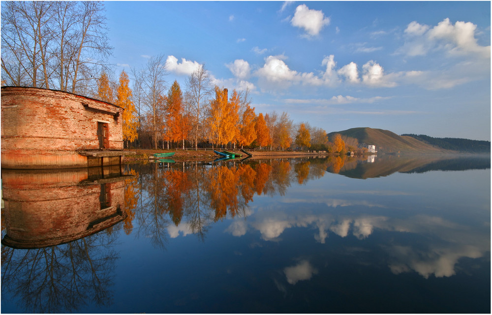 Lake in the autumn