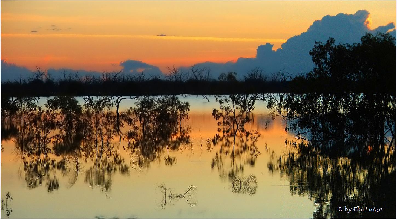 *** Lake Menindee at Sun Rise / near Broken Hill ***
