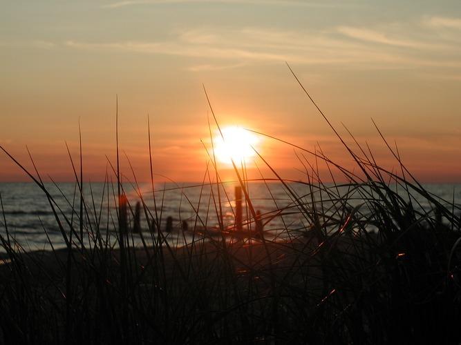 Lake Michigan Sun Set