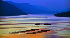 Lake near Dospat (Bulgarien)