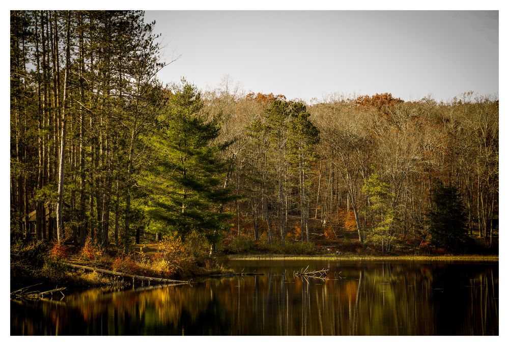 Lake Ocquttunk at Stokes State Forest