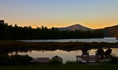 Lake Placid sunset