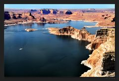 Lake Powell airview