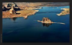 Lake Powell by air