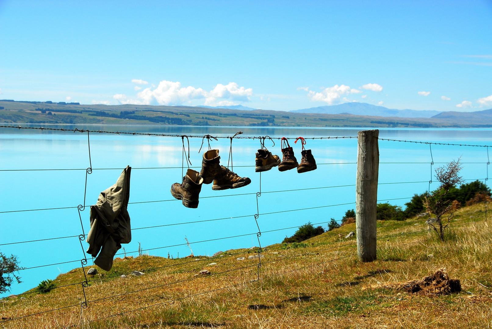 Lake Pukaki some things forgotten
