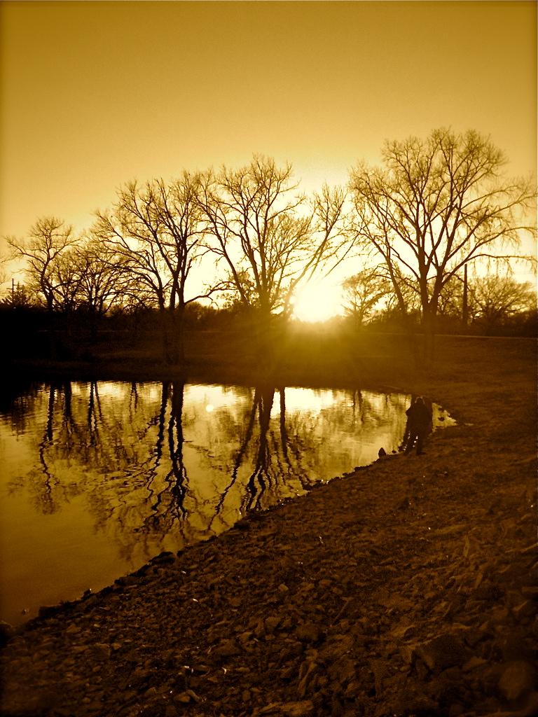 Lake Shawnee in Kansas