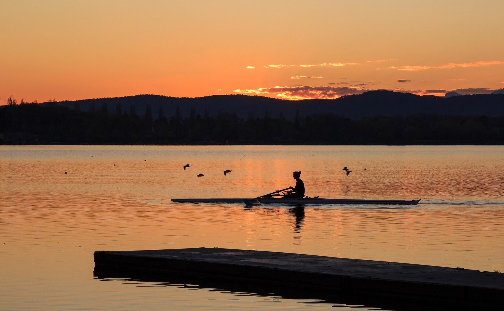 Lake travelers