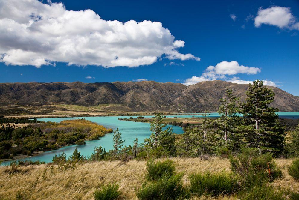 Lake Waitaki - Neuseeland