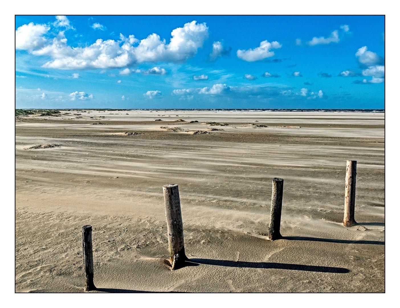 Lakolk Strand, Rømø - Starker Wind