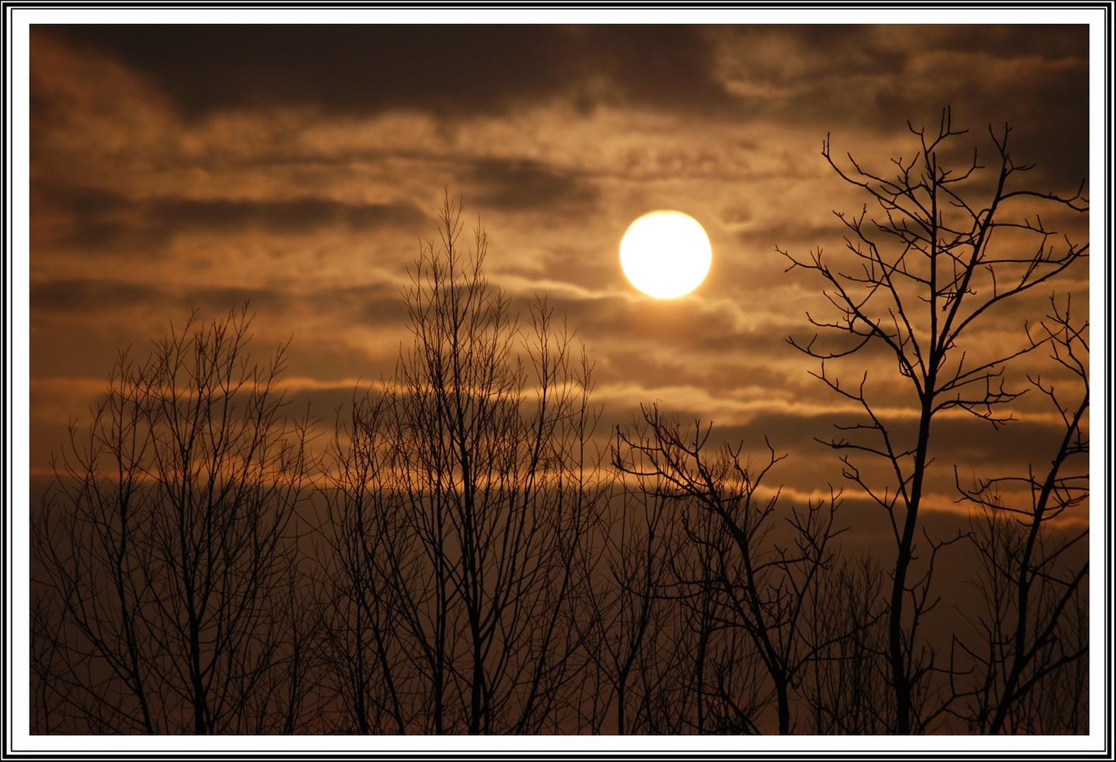 L'alba dal mio balcone...