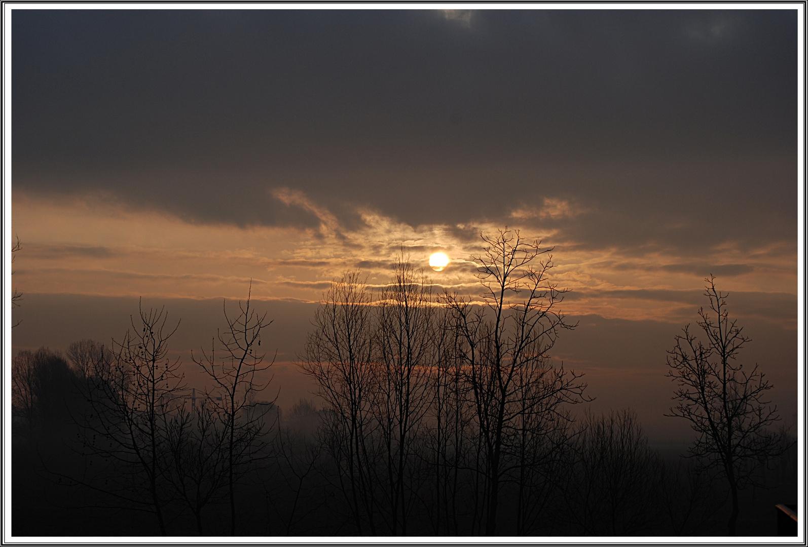 L'alba dal mio balcone...ancora
