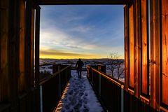 l'alba del fotografo